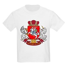 Lithuania Coat of Arms Kids T-Shirt