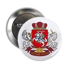 "Lithuania Coat of Arms 2.25"" Button (10 pack)"