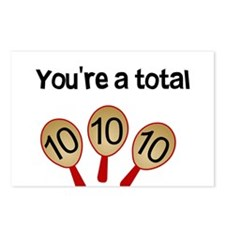 """You're a Total Ten"" Postcards (Package of 8)"