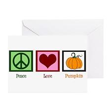 Peace Love Pumpkin Greeting Cards (Pk of 20)