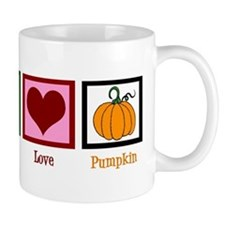 Peace Love Pumpkin Mug