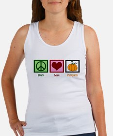 Peace Love Pumpkin Women's Tank Top
