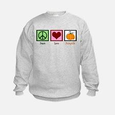 Peace Love Pumpkin Sweatshirt