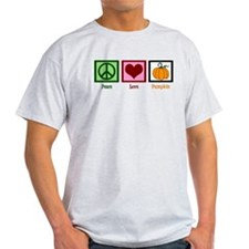 Peace Love Pumpkin T-Shirt