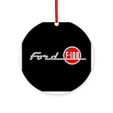 F-100 Ornament (Round)