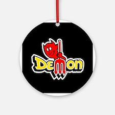 Demon Ornament (Round)