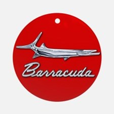 Barracuda Logo Ornament (Round)