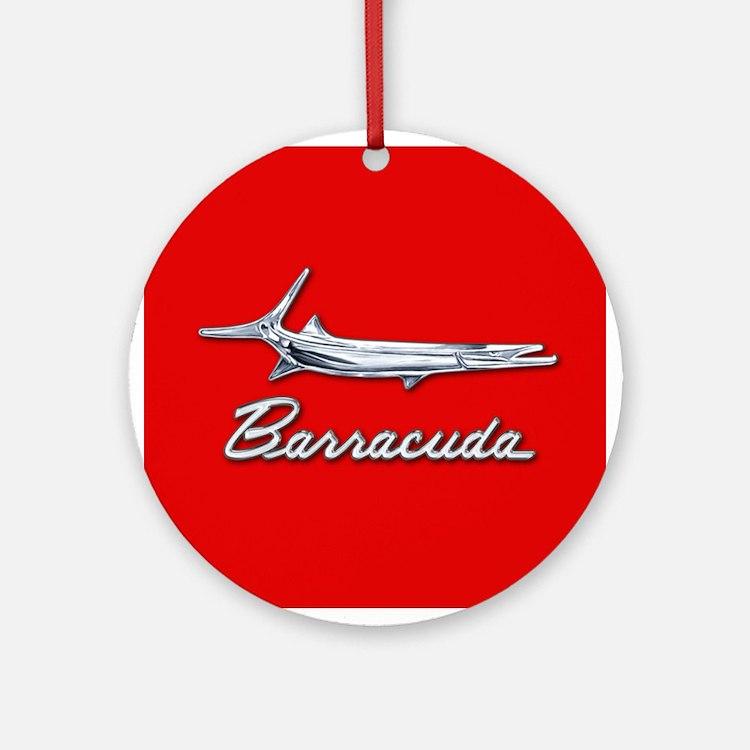 Barracuda Logo Ornament (Round)