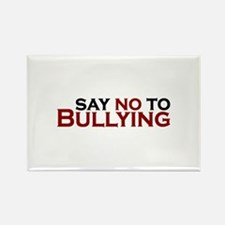 Say No To Bullying Rectangle Magnet
