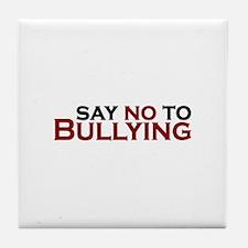 Say No To Bullying Tile Coaster