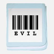 Evil Barcode Design Infant Blanket