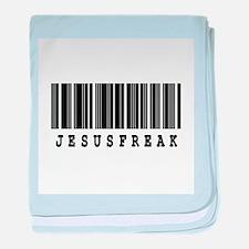 Jesus Freak Barcode Design Infant Blanket