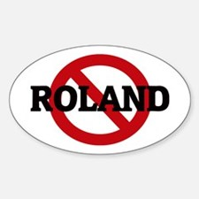 Anti-Roland Oval Decal
