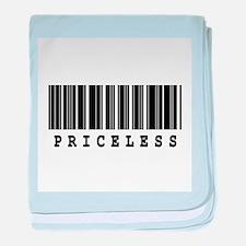 Priceless Barcode Design Infant Blanket