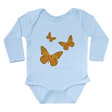 Indian Monarch Long Sleeve Infant Bodysuit