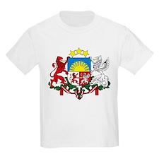 Latvia Coat of Arms Kids T-Shirt