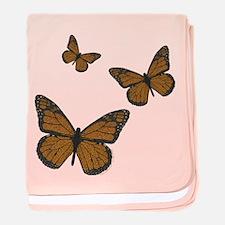 Monarch Infant Blanket
