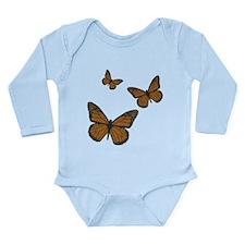 Monarch Long Sleeve Infant Bodysuit