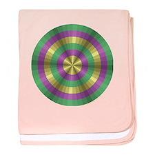 Mardi Gras Illusion Infant Blanket