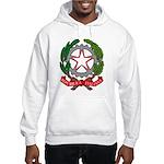 Italian Coat of Arms Hooded Sweatshirt