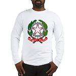 Italian Coat of Arms Long Sleeve T-Shirt