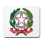 Italian Coat of Arms Mousepad