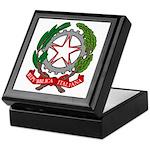 Italian Coat of Arms Keepsake Box