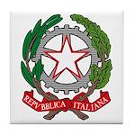 Italian Coat of Arms Tile Coaster