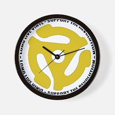 DJ - Long Live Vinyl Wall Clock