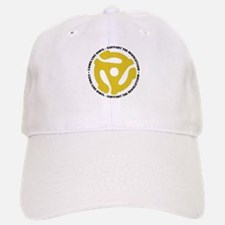 DJ - Long Live Vinyl Baseball Baseball Cap