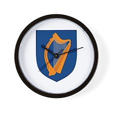 Irish Coat of Arms Wall Clock