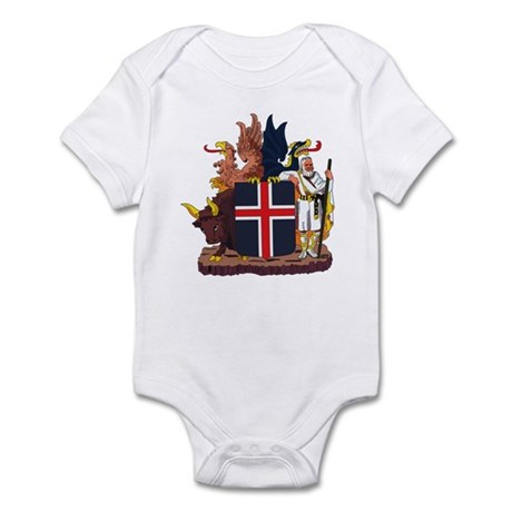 Iceland Coat of Arms Infant Creeper