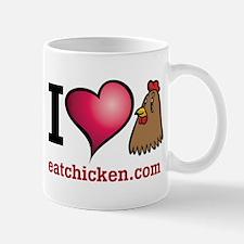 Cute Eatchicken.com Mug