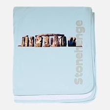 Stonehenge Vertical baby blanket