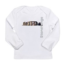 Stonehenge Vertical Long Sleeve Infant T-Shirt