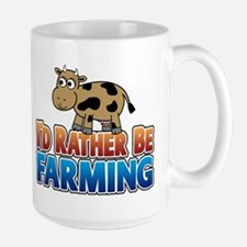 Farmville Inspired Cow Large Mug
