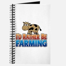 Farmville Inspired Cow Journal