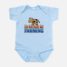 Farmville Inspired Cow Infant Bodysuit
