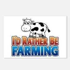 Farmville Inspired Cow Postcards (Package of 8)