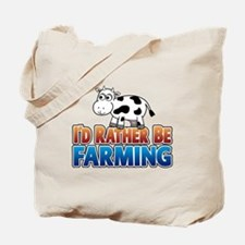 Farmville Inspired Cow Tote Bag