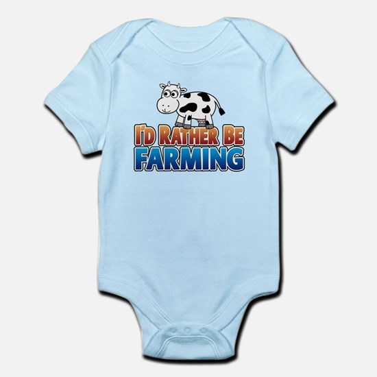 Farmville Inspired Cow Infant Bodysuit