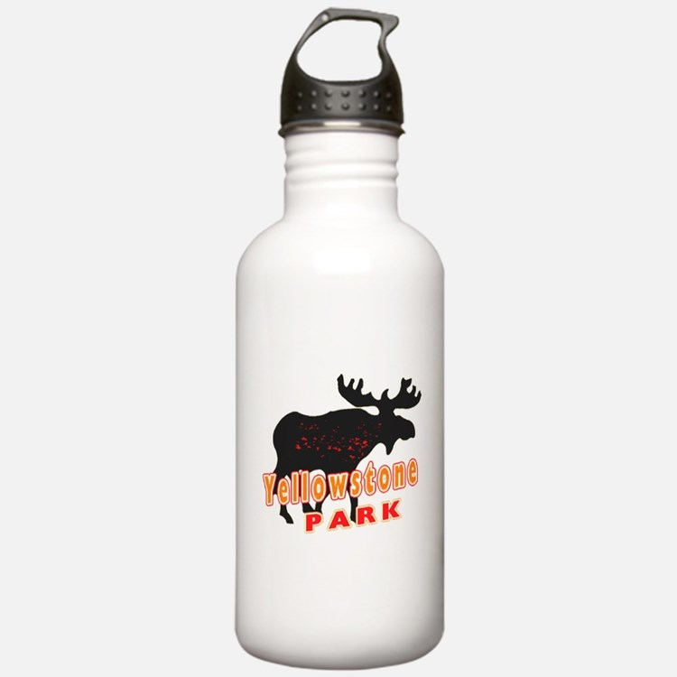 yellowstone Moose Water Bottle