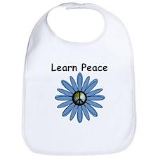 Learn Peace Bib