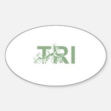 TRI Sticker (Oval)