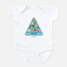 Kawaii Oishi Food Pyramid Infant Bodysuit