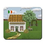 St. Patrick's Day Cottage Mousepad