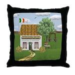 St. Patrick's Day Scene Throw Pillow