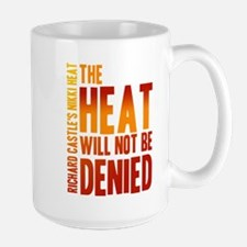 Castle The Heat Will Not Be Denied Large Mug