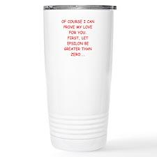 funny math joke Travel Mug