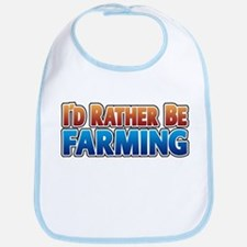 I'd Rather Be Farming - no an Bib